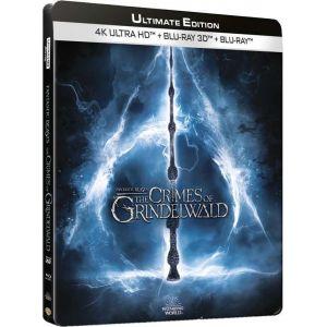 Les Animaux fantastiques : Les Crimes de Grindelwald [Ultimate Edition - 4K Ultra HD + Blu-Ray 3D + Blu-Ray + Blu-Ray version longue - Boîtier SteelBook Limité]
