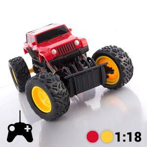Tout-Terrain Telecommande Monster Truck - Jaune