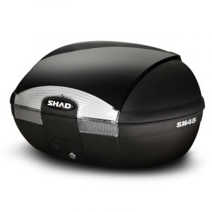 Shad Top case 2 casques Top Case White SH45 Black