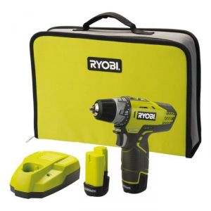 Ryobi R12DD-LL13S - Perceuse visseuse sans fil 12V