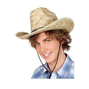 Chapeau paille Dallas Bull adulte