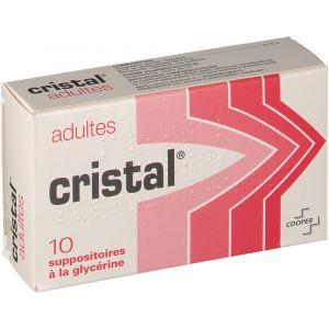 Cooper Cristal Adultes - 10 Suppositoires