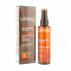 Lierac Sunific - Soin solaire au 3 huile sublimantes SPF6