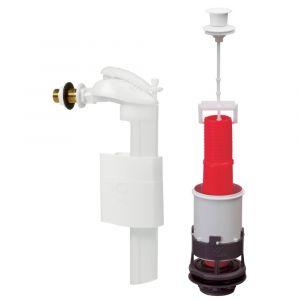 Wirquin Mécanisme à tirette, robinet flotteur compact F90
