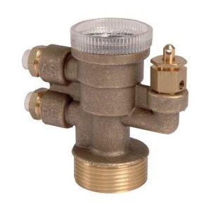 Combifuel pour installation jusqu'à 100 000 kcal | Désignation: Avec clapet anti-siphon 1.80 m