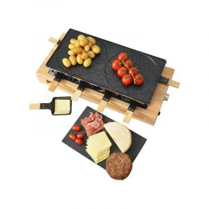 Kitchen Chef KCWOOD8MAXI - Raclette