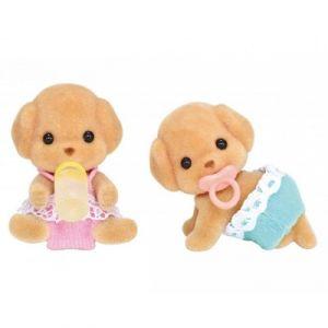 Epoch 5261 - Bébés jumeaux caniches Sylvanian Family
