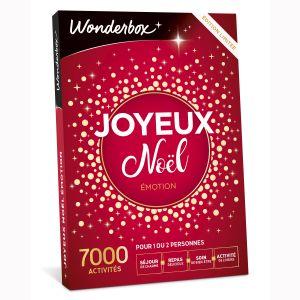 Wonderbox Joyeux Noël Emotion - Coffret cadeau 700 activités