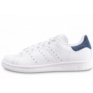 Adidas Stan Smith W, Chaussures de Fitness Femme, Blanc Ftwbla/Maruni 0, 41 1/3 EU