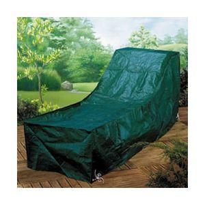 Gardman Housse verte pour chaise longue de jardin