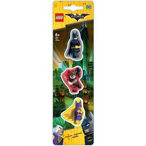 Lego LG51759 - 3 gomme Batman / Batgirl / Harley Quinn