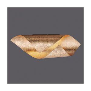 Millumine Applique murale feuille d'or LED Stylence avec interrupteur