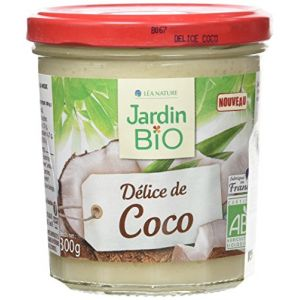 Jardin Bio Confiture Délice de coco allégée en sucres bio - 300 g