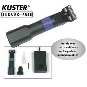Kuster 256645 - Tondeuse à cheveux Enduro Thrive Free 35 rechargeable