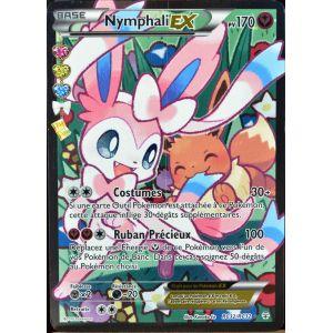 Asmodée Nymphali-EX - Carte Pokémon RC32 Ultra Rare Full Art