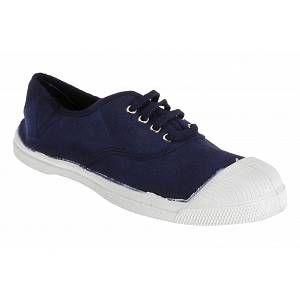 Bensimon F15004 - Tennis Lacet Femme - Baskets - Femme - Bleu (Marine) - 36 EU