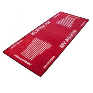 Bike It Tapis de garage BikeTek MV Agusta rouge 190x80 cm