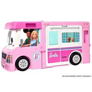 Mattel Barbie - Camping-car de rêve 3-en-1