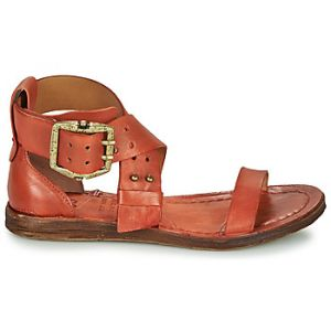 A.S.98 Sandales Airstep / RAMOS CROISE rouge - Taille 36,37,38,39,40,41,42