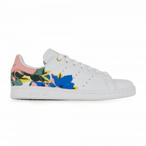 Adidas Stan Smith cuir Femme-37 1/3-Blanc Rose Or
