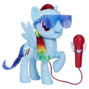 My little pony Rainbow dash chantant