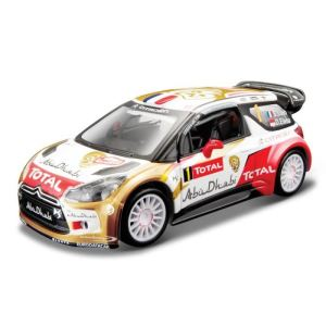 Bburago 41100 - Citroën racing Total World Sébastien Loeb - Echelle 1:32