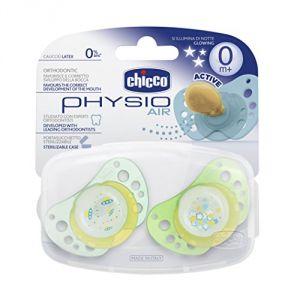 Chicco Physio Air 0m+ - Sucette en caoutchouc (0 mois +)