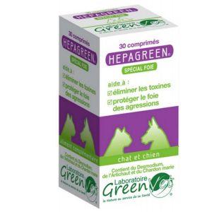 GreenVet Hepagreen spécial foie Chien et Chat 30 cps