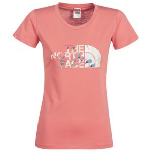 The North Face T-shirt Femme Easy - XS Spiced Coral T-shirts