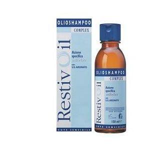 RestivOil Complex Olio-Shampoo per Cute Sensibile Antiforfora per Capelli Da Normali a Grassi - 150 ml