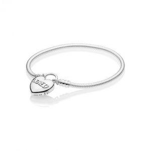 Pandora Bracelet Amour 597806 - Bracelet Cadenas Aimée Argent Femme