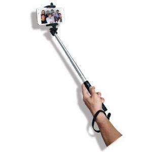 Temium Perche selfie Bluetooth noire pour smartphone