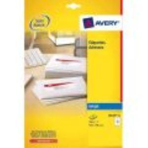 Avery-Zweckform J8163-25 - 350 étiquettes d'adresse 3,81 x 9,91 cm