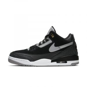 Nike Chaussure Air Jordan 3 Retro Tinker pour Homme - Noir - Taille 45.5 - Male