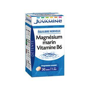 Juvamine Vitamines et minéraux Magnesium Marin Vitamine B6