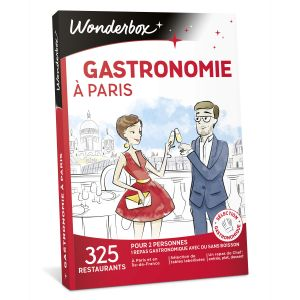 Wonderbox Gastronomie à Paris - Coffret cadeau 325 restaurants
