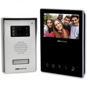 Scs sentinel Interphone vidéo 2 fils - VisioKit 4.3 - VisioKit 4.3