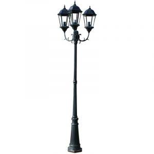 VidaXL Lampadaire extérieur triple 230 cm