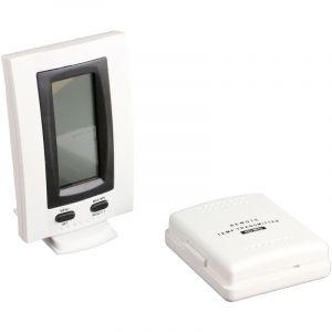 Lifedom Thermomètre intérieur extérieur - portée 30 Mètres - avec mémorisation des températures mini / maxi