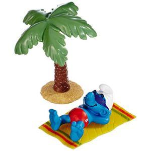 Schleich 40261 - Figurine Schtroumpf en vacances