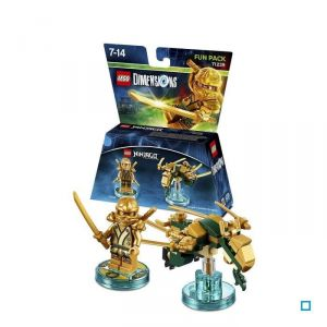 Warner Figurine Lego Ninjago : Lloyd - Fun Pack