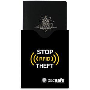 PacSafe RFIDsleeve 50 noir Etui sécurisé pour passeport