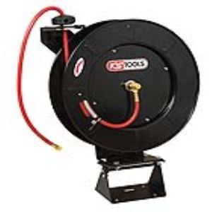 KS Tools 150.4025 - Enrouleur pour tuyau d'air Ø13mm longueur 20M avec adaptateur ½