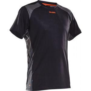 Salming Challenge Shirt Short Sleeve - Black - XL