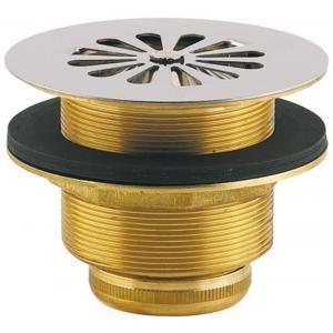 Valentin 31120000000 - Bonde siphoide sortie verticale pour receveur D60 laiton à visser