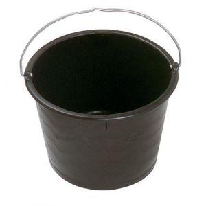 Mondelin Seau de maçon 20 l polyéthylène noir