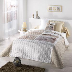 couvre lit matelass dune 220 x 240 - Dessus De Lit Boutis
