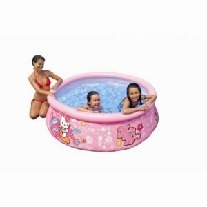 Intex Piscine gonflable Easy Set Hello Kitty