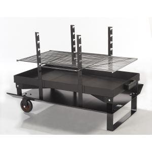 Le feu roulant FR100 - Barbecue à charbon 87 x 48 cm