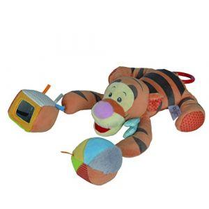Peluche Tigrou avec balle et cube mirroir